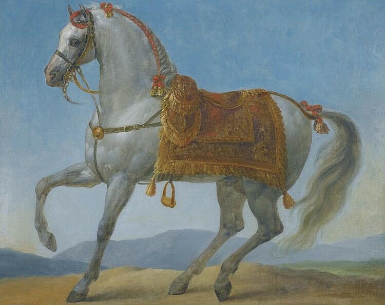 ancient arabian horse